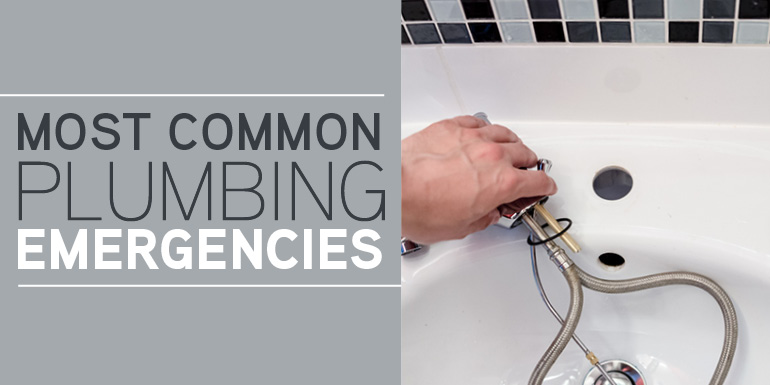 Most Common Plumbing Emergencies