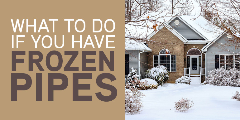What to Do About Frozen Pipes?